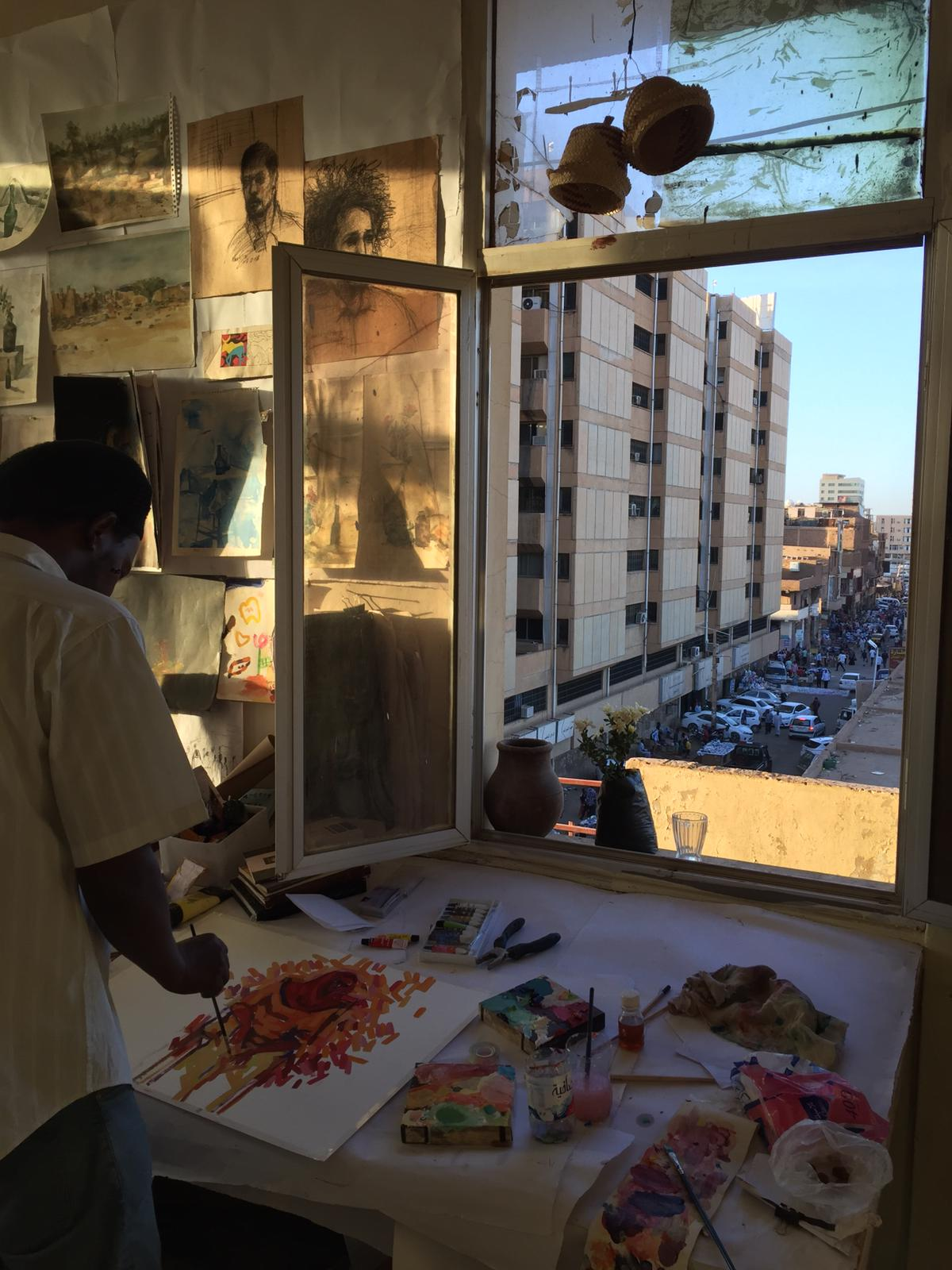 Africa Is Now Magazine - Above the Souq, Khartoum's underground art scene