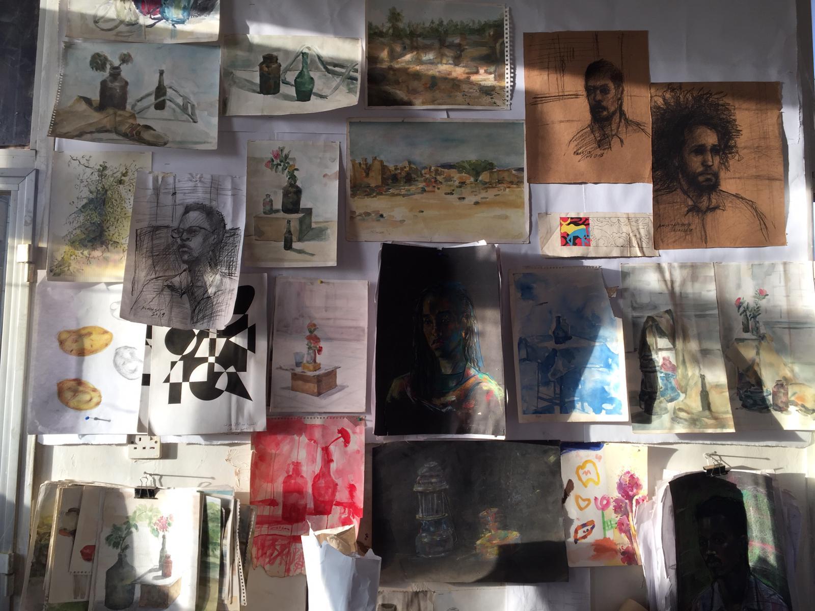 Africa Is Now Magazine - Above the Souq, Khartoum's underground art scene